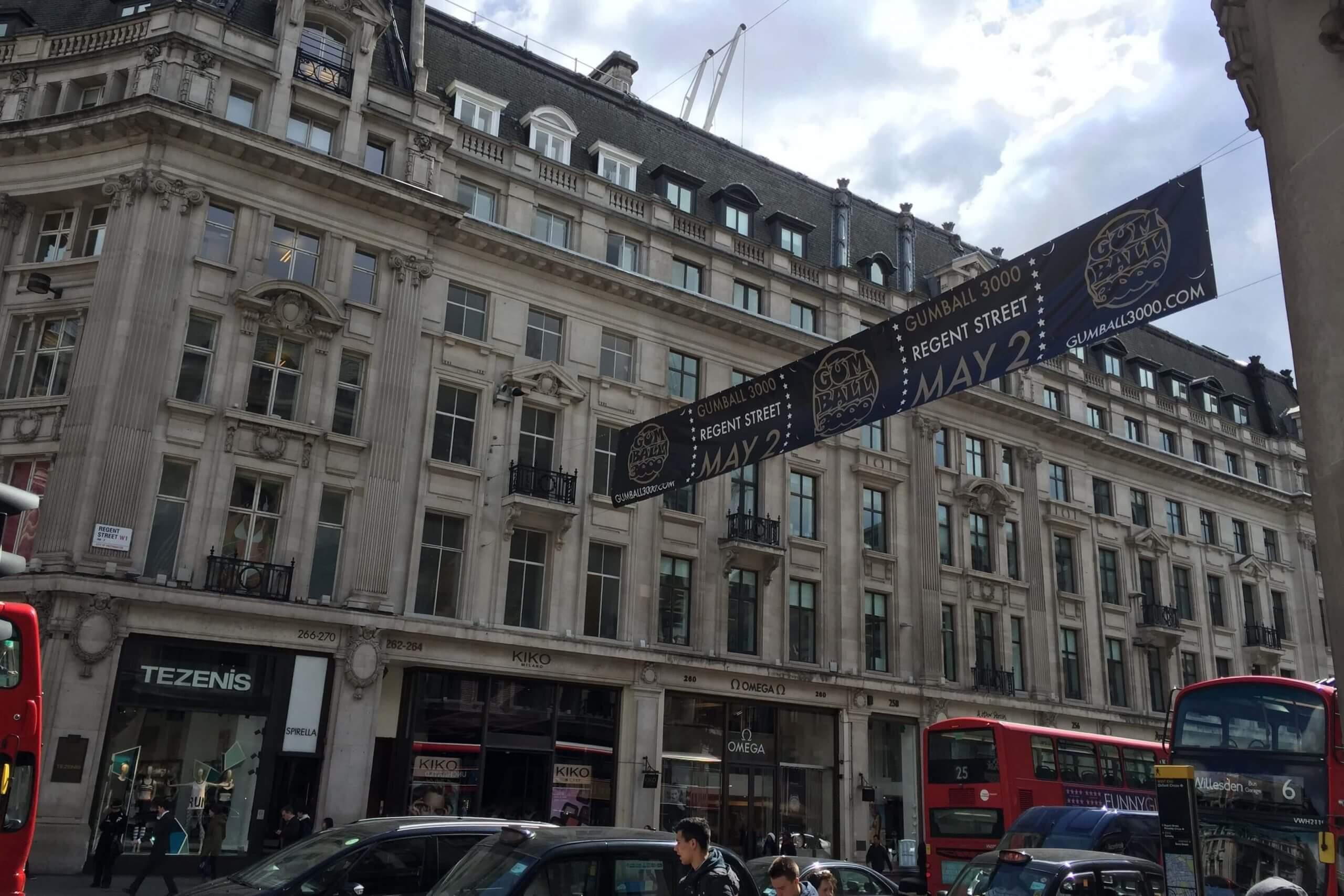 Cross Street Banner