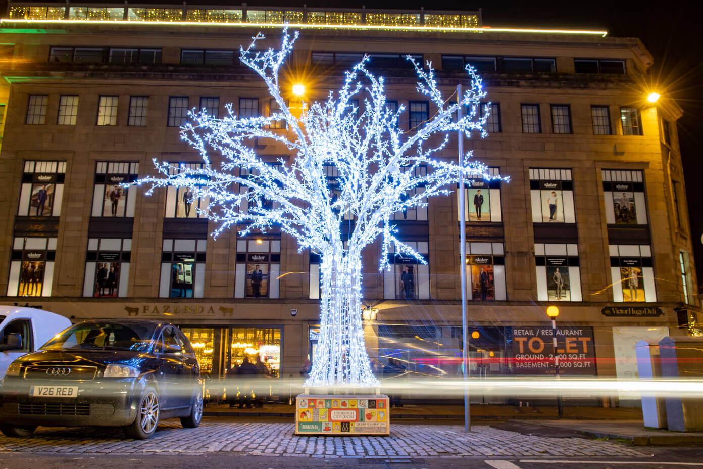 Ground Mounted Light Tree
