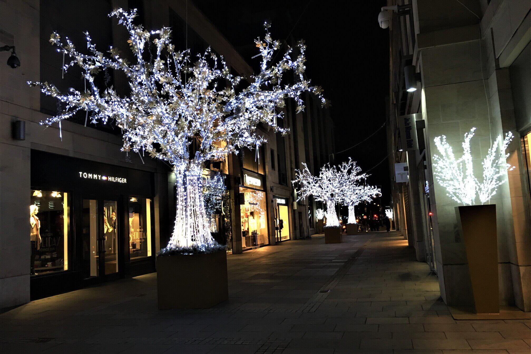 Ground mounted Light Trees