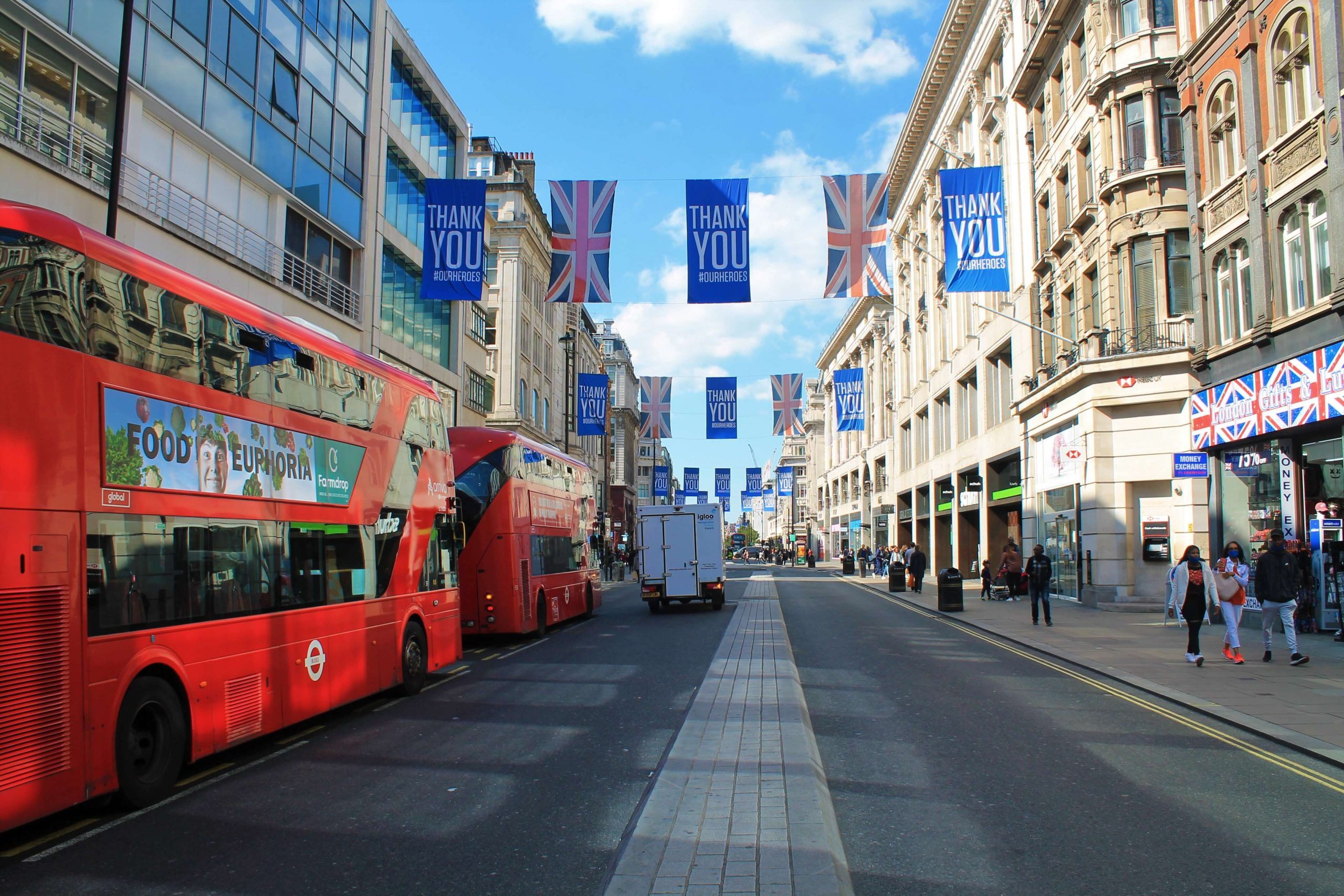 Oxford Street Flags