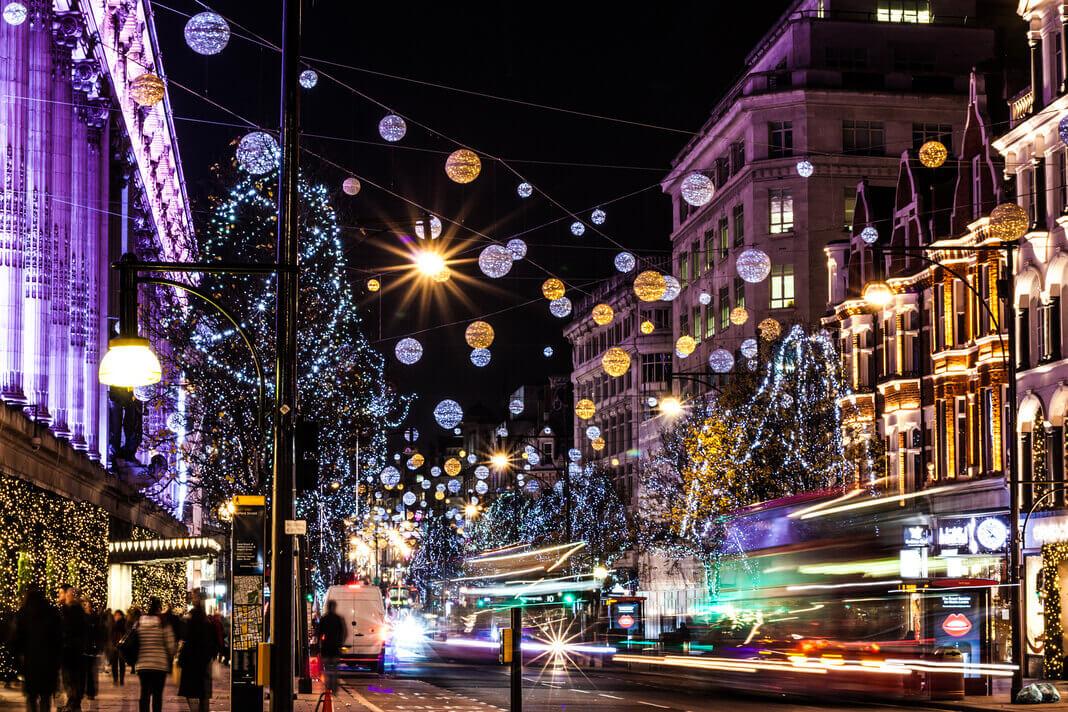Oxford Street Lights 2018