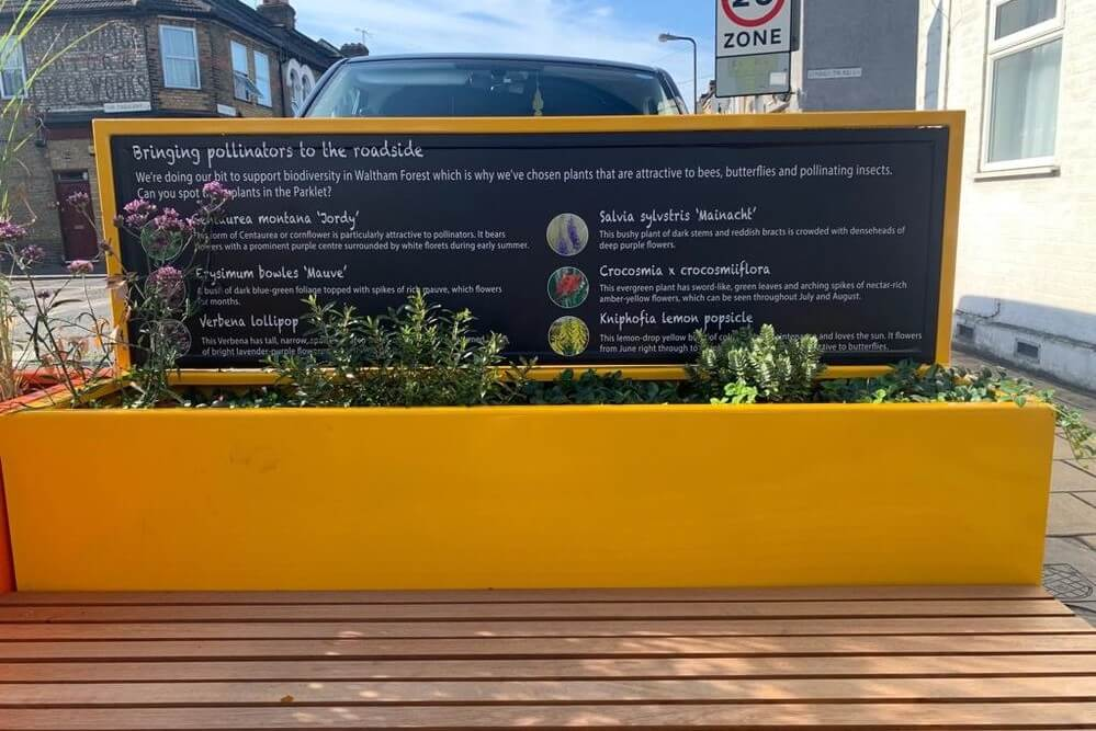Planter and Info-board