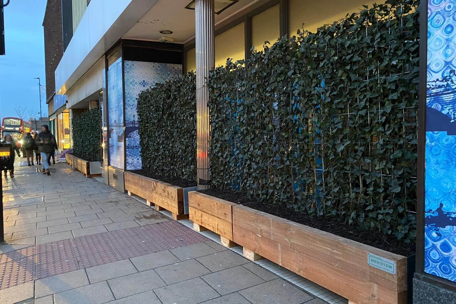 Shop Front Green Wall