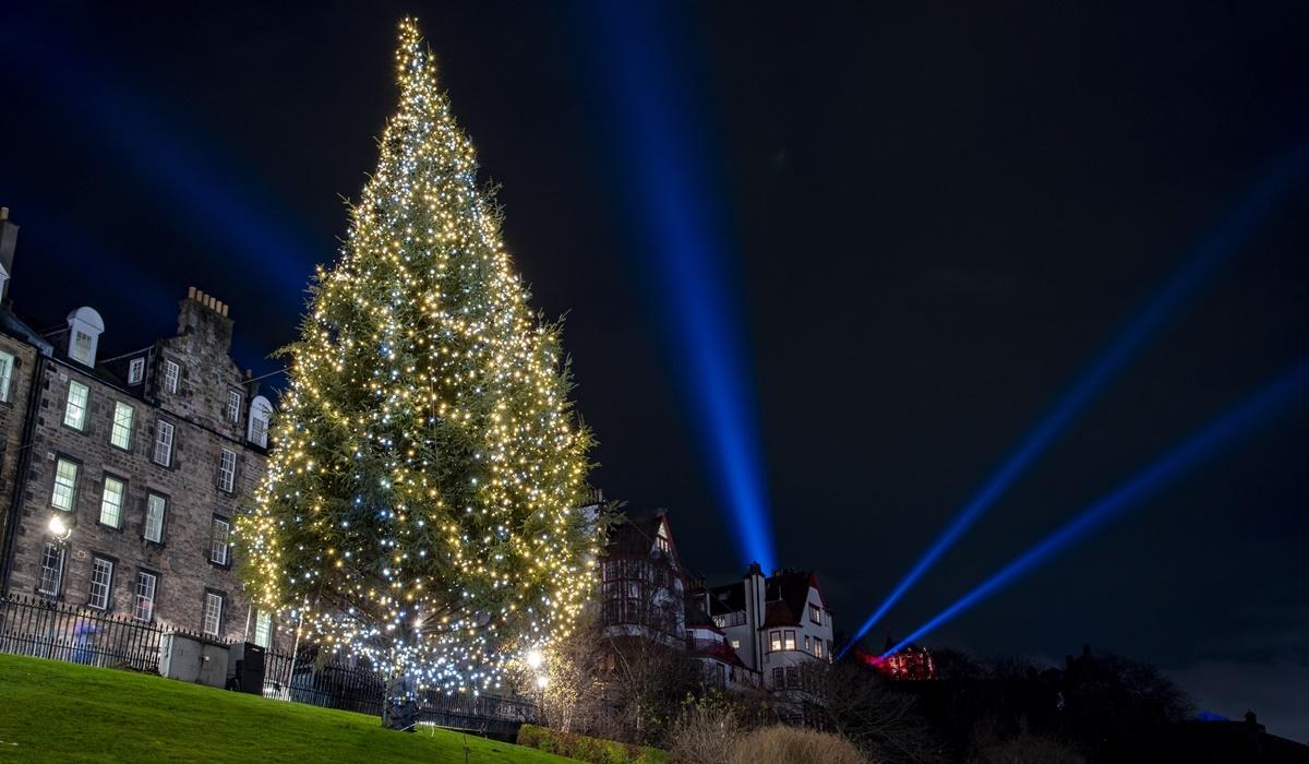 Bringing Festive Cheer to the City of Edinburgh